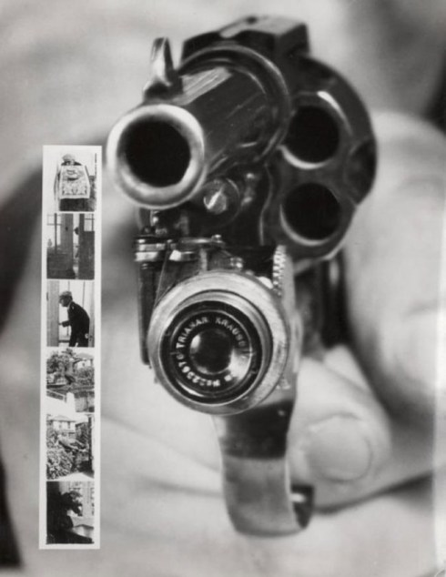 strange old timey inventions, photo revolver