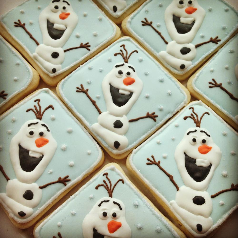 Olaf the Snowman Treats for Christmas - Moco-choco