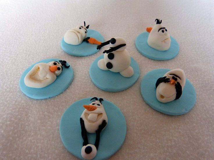 the cutest olaf cookies 4