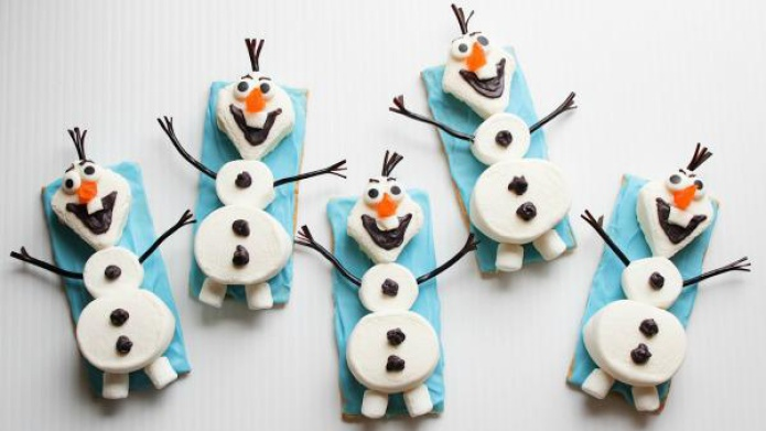 the cutest olaf marshmallows 2