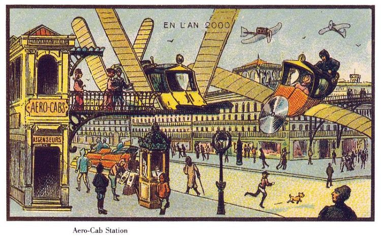 Future Forecasts In 1900, France 22