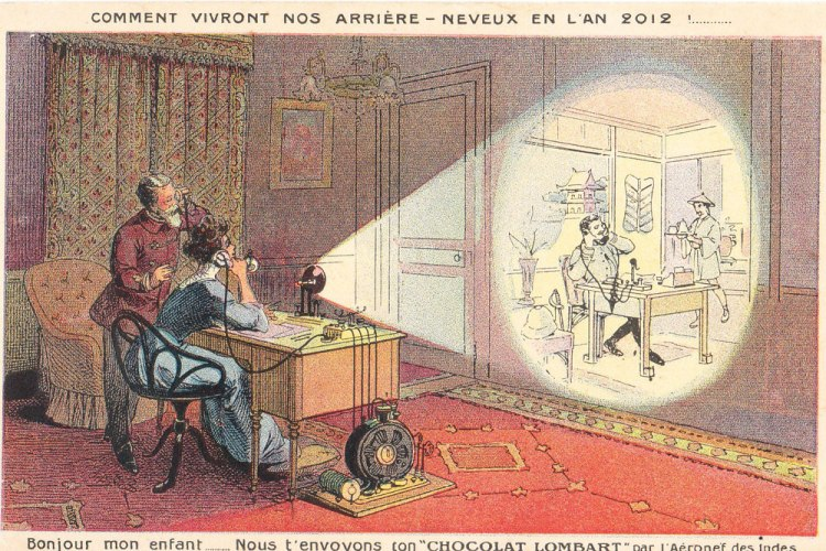 Future Forecasts In 1900, France 34