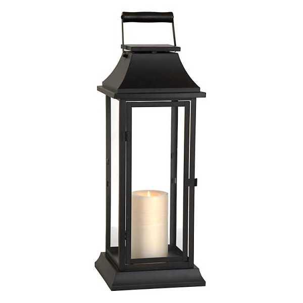 Candle Lanterns - Dark Bronze Metal Lantern
