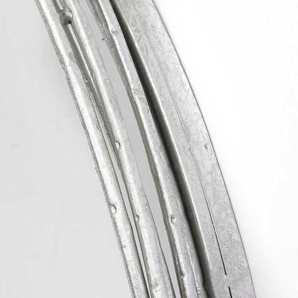 Wall Mirrors - Jocelyn Silver Wall Mirror