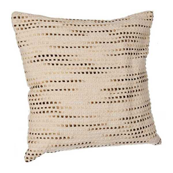 Throw Pillows - Natural Cotton Weave Pillow