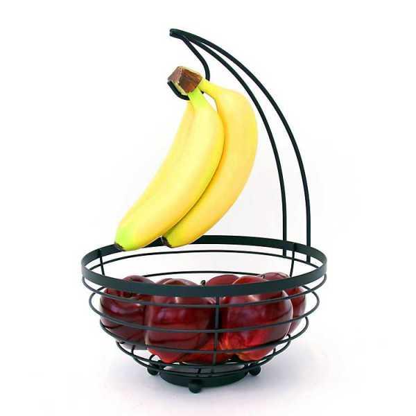 Fruit Bowls & Baskets - Black Banded Banana Basket