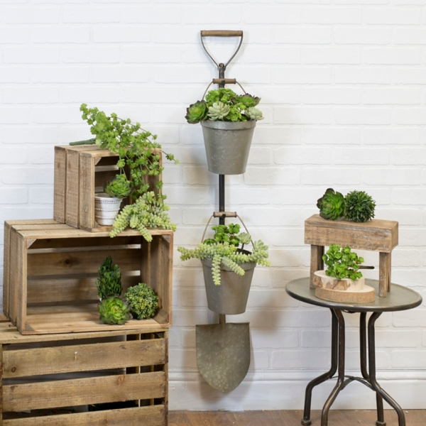 Planters - Wall Mounted Shovel Planter