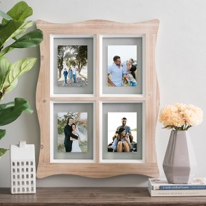 Collage Frames - Natural Swivel Windowpane Photo Collage