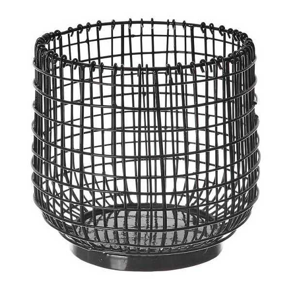 Kitchen Accessories - Black Wire Utensil Crock