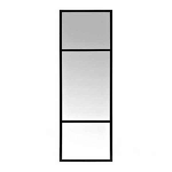 Wall Mirrors - Black Rectangle Antique Framed Wall Mirror