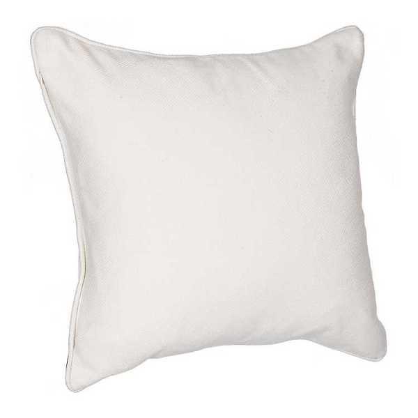 Throw Pillows - Natural Wooly Plaid Pillow