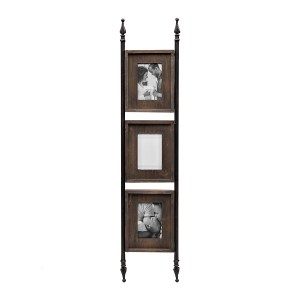 Collage Frames - Collage Picture Frame with Finial Rails