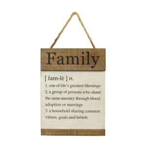 Family Definition Hanging Wall Decor