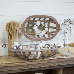 Decorative Trays - Tobacco Boat Baskets