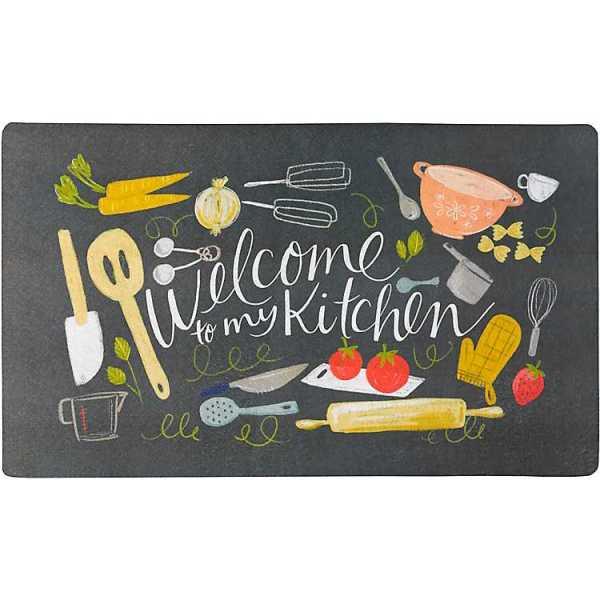 Kitchen Mats - Welcome to my Kitchen Comfort Kitchen Mat