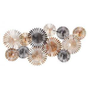Abstract Daisy Metal Wall Art Decor