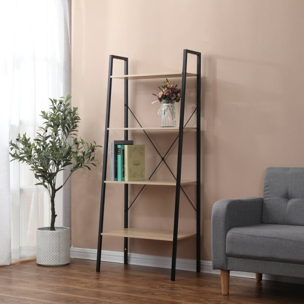 dolan-4-tiered-industrial-style-ladder-bookcase
