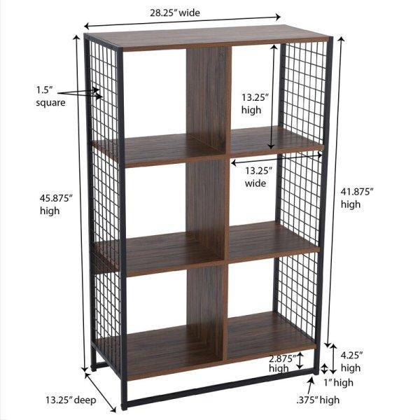jenee-modern-design-6-cube-standard-bookcase2