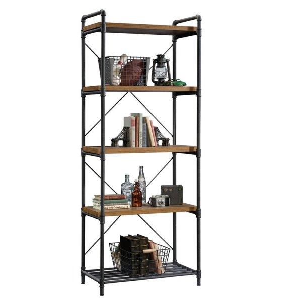 larkin-metal-pipe-frame-combine-1-inch-thick-shelves-standard-bookcase1