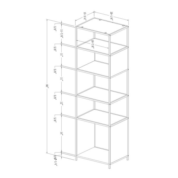 leidy-five-shelves-metal-frame-combine-wood-laminate-cube-bookcase1