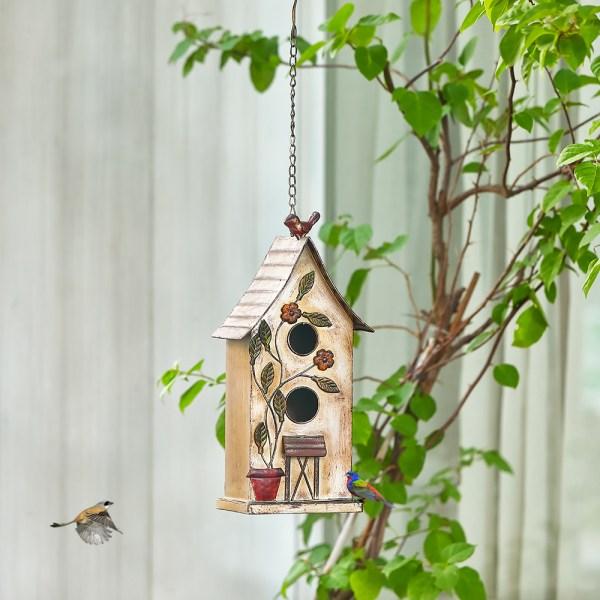 Outdoor Hanging Finch Birdhouses Real Shot 1