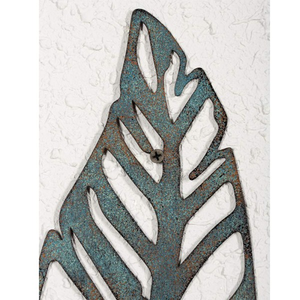 Home Antique Feather Wall Decor and Leaf Wall Decor Partial details 1