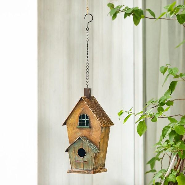 Outdoor Hanging Birdhouses with Window Real Shot 1
