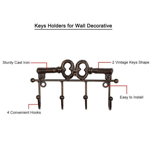 Rustic Decorative Wall Key Holder instructions