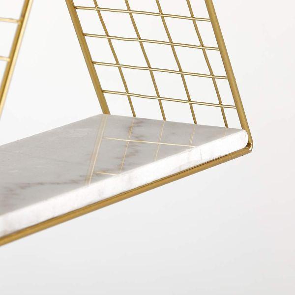 Triangular Wall Shelf Partial details 1