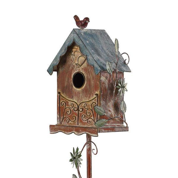 Rustic Freestanding Birdhouses
