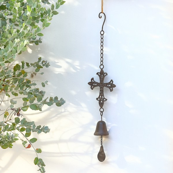 Outdoor Cross Wind Chimes Real shot 3