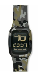 Swatch Touch camuflaje