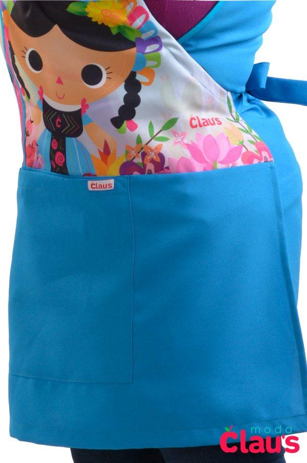 bolsa grandes en mandiles para maestras