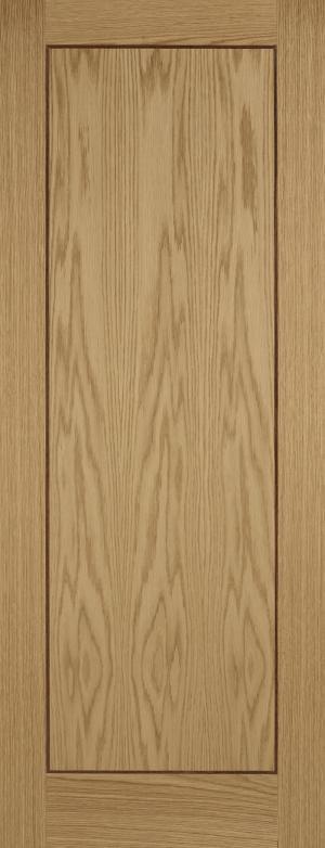 LPD Internal Oak Inlay 1 Panel Door