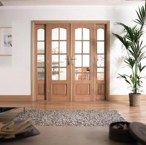 LPD Internal Oak Room Divider