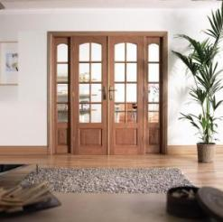 LPD Internal Hardwood Room Divider