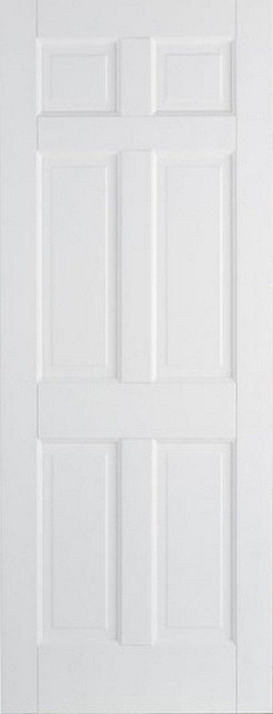 LPD Internal White Regency 6 Panel Door