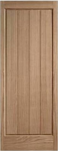 LPD External Oak Epsom Solid Door