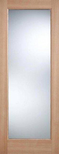 LPD External Oak Pattern 10 with Clear Glass Part L Warmer Door