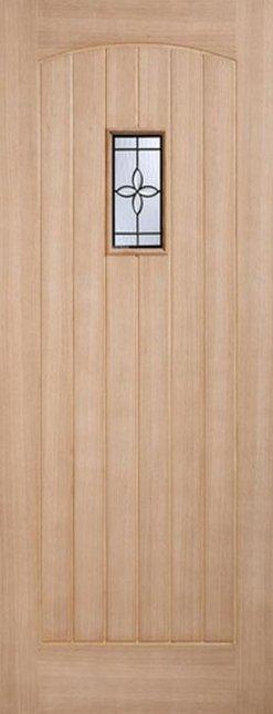 LPD External Oak Chesham Cottage Part L Warmer Door