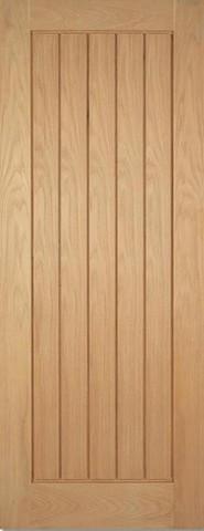 LPD Internal Oak Mexicano Pre-Finished Fire Door