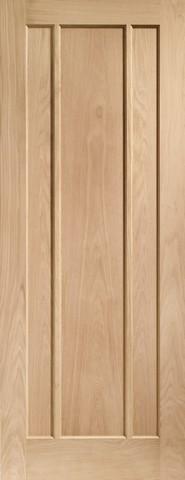 XL Joinery Internal Oak Worcester 3 Panel Fire Door