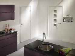 XL Joinery Internal Solid White Primed Palermo Door