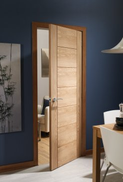 XL Joinery Internal Oak Pre-Finished Palermo Door