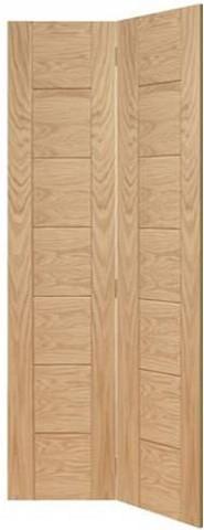 XL Joinery Internal Oak Palermo Bi-Fold Door