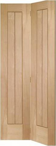XL Joinery Internal Oak Suffolk Bi-Fold Door