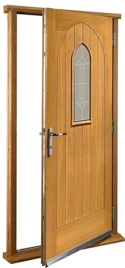 XL Joinery Pre-Finished External Oak Double Glazed Westminster Door Set