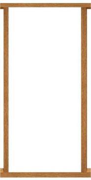Mendes External Hardwood Double Door Frame