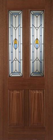 Mendes External Hardwood Edwardian Blue Door