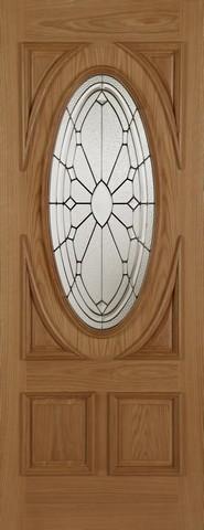 Mendes External Oak Sovereign Door
